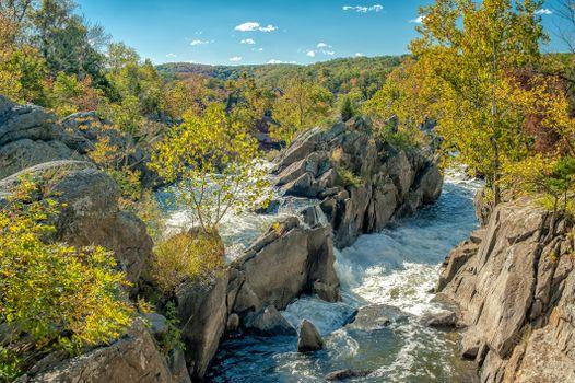 Фото бесплатно Чесапик и Огайо, канал, Национальный исторический Парк, штат Мэриленд