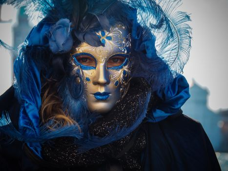 Фото бесплатно Венецианский карнавал, маска, карнавал венеция
