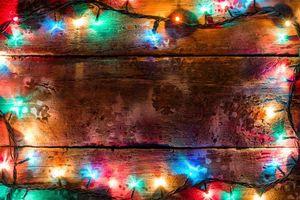 Фото бесплатно дизайн, Рождество, гирлянды