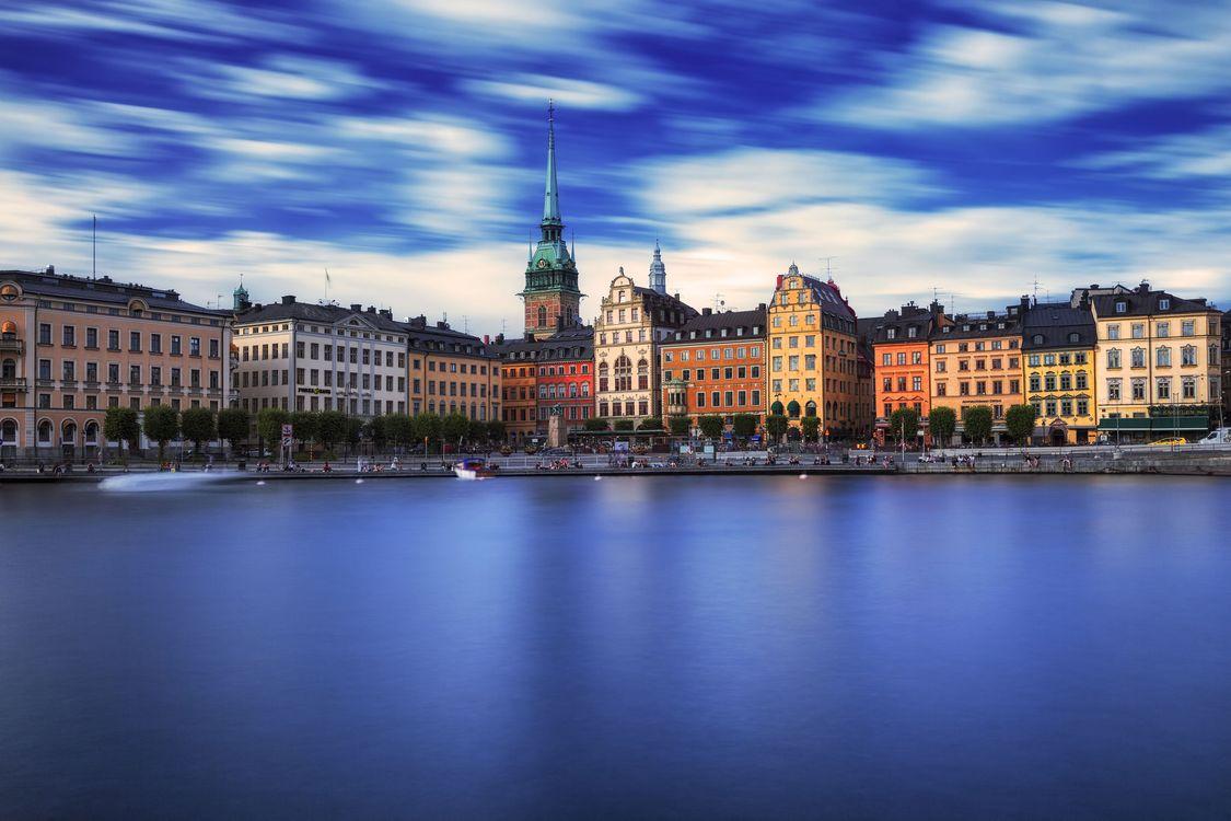 Фото бесплатно Стокгольм, Швеция, город, город - скачать на рабочий стол