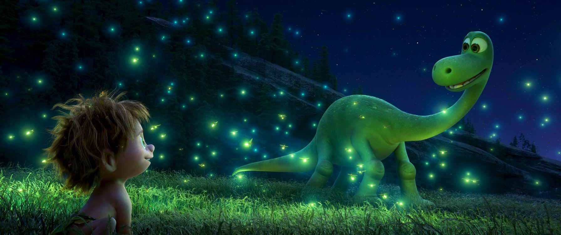 Фото бесплатно Хороший динозавр, мультфильм, фэнтези, комедия, приключения, семейный, мультфильмы