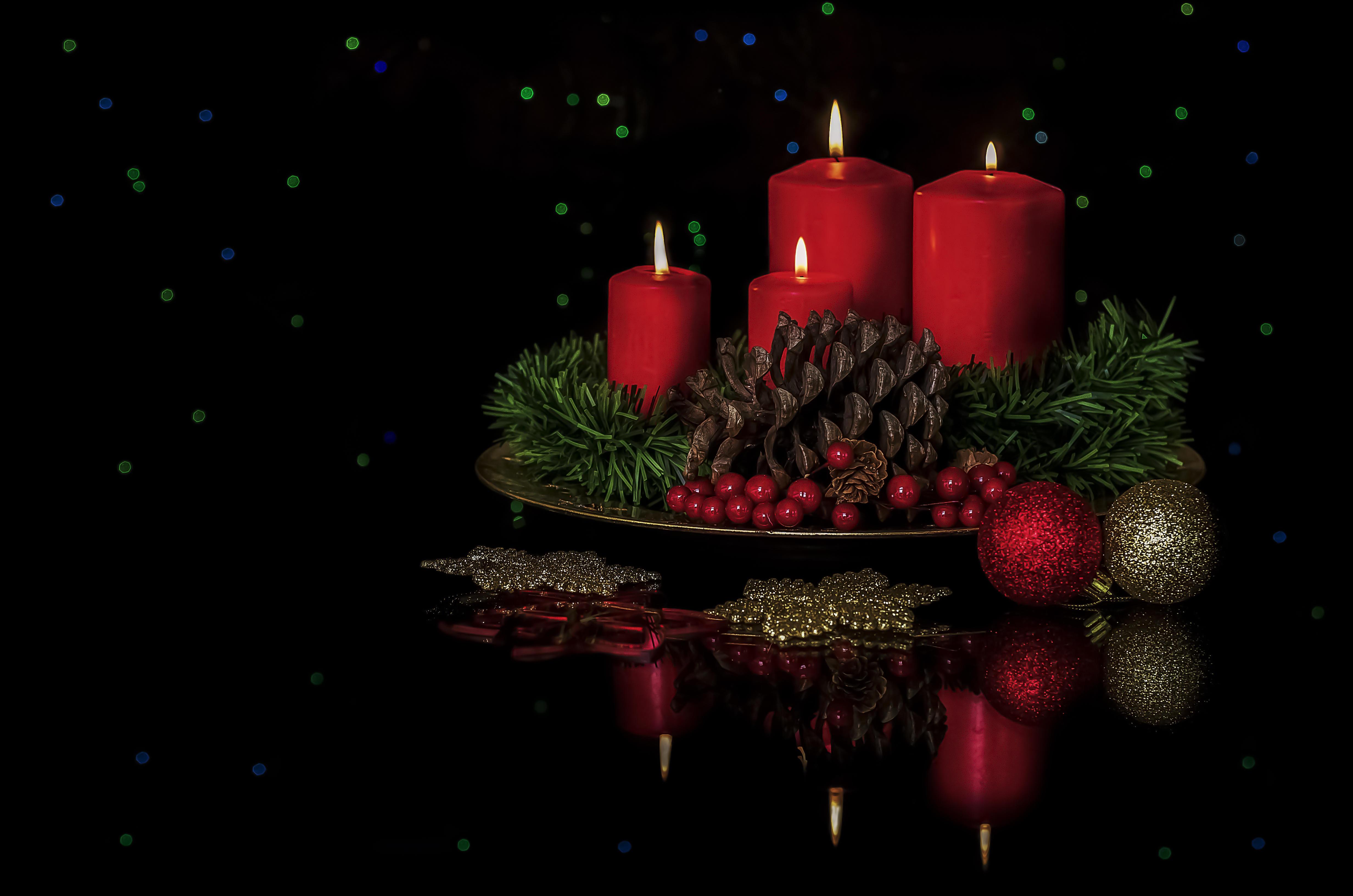 Обои Рождество, фон, дизайн, элементы