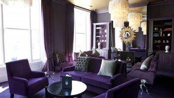 Фото бесплатно гостиная, подушки, диван