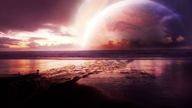 Фото бесплатно неизвестные миры, планета, океан
