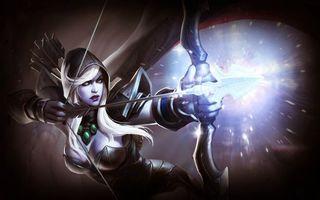 Обои онлайн игра, Dota2, героиня, персонаж
