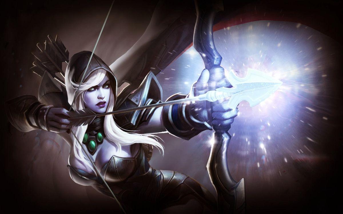 Фото бесплатно онлайн игра, Dota2, героиня - на рабочий стол