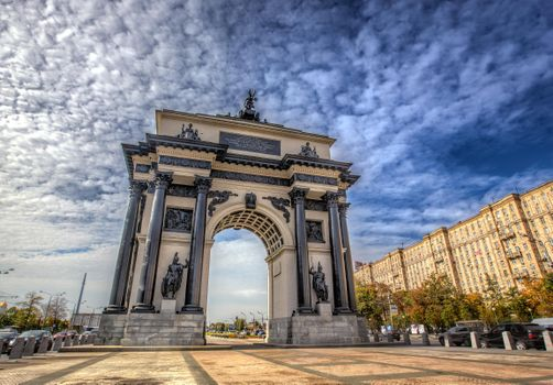 Photo free Triumphal arch, Moscow, Russia