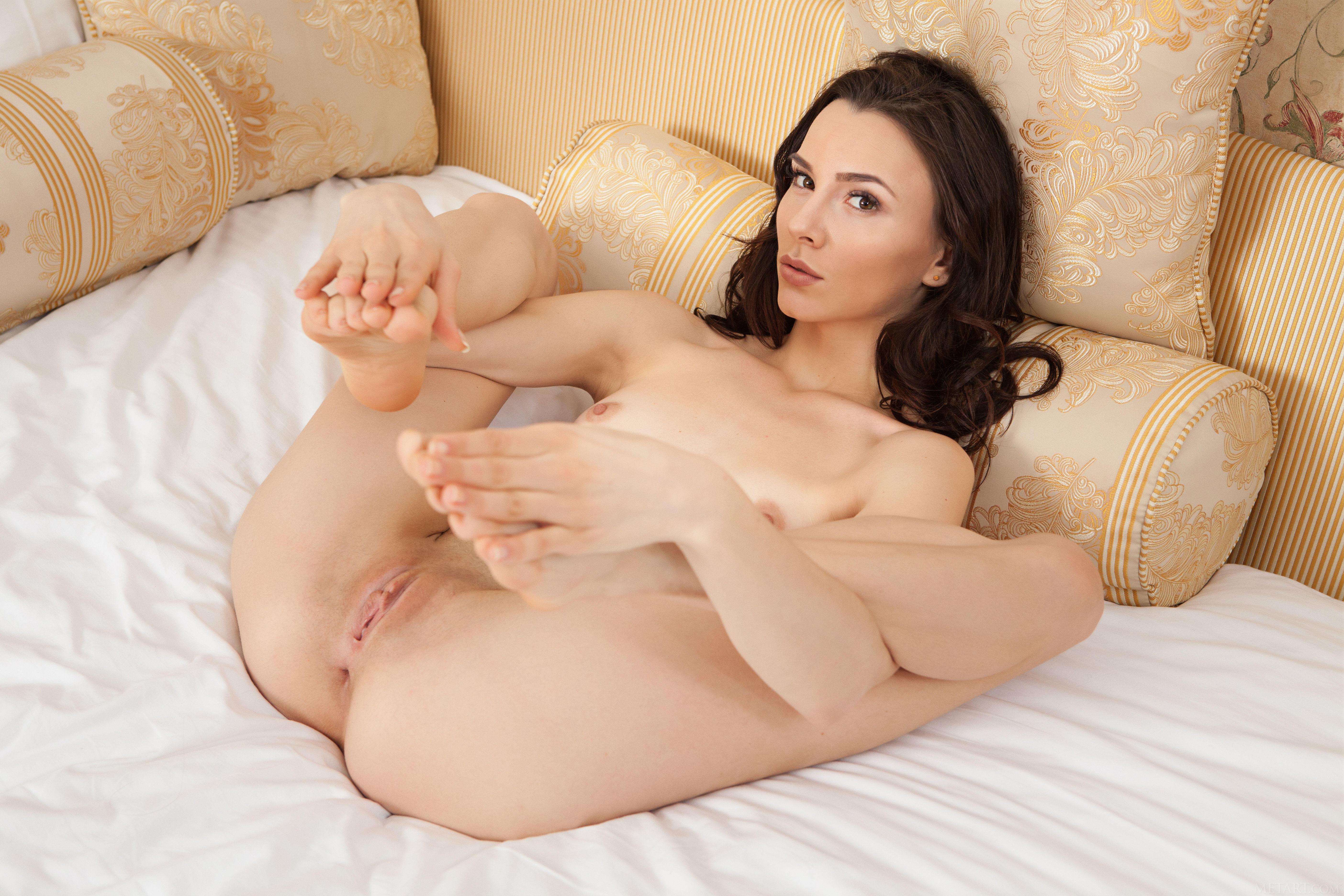 обои Adel Morel, красотка, голая, голая девушка картинки фото