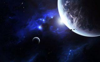 Заставки планеты,звезды,свечение,невесомость,вакуум,метеориты