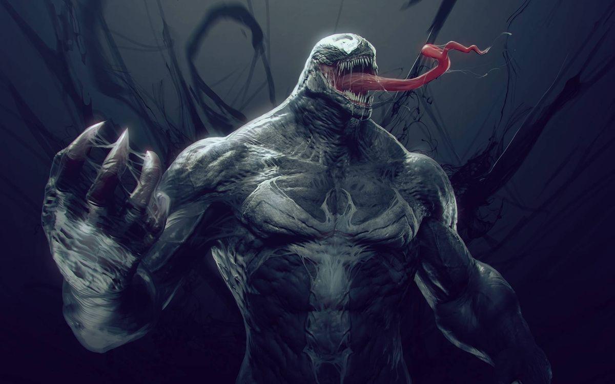 Фото бесплатно веном, venom, человек паук, spider man, marvel - на рабочий стол