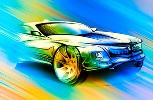 Заставки автомобиль, машина, рисунок