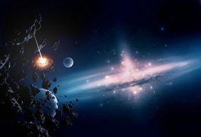 Фото бесплатно астероиды, невесомость, планеты