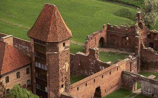Фото бесплатно стены, развалины, башня