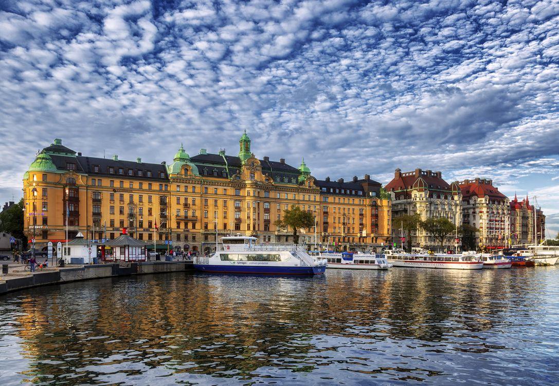 Free photo Stockholm, Sweden, city - to desktop