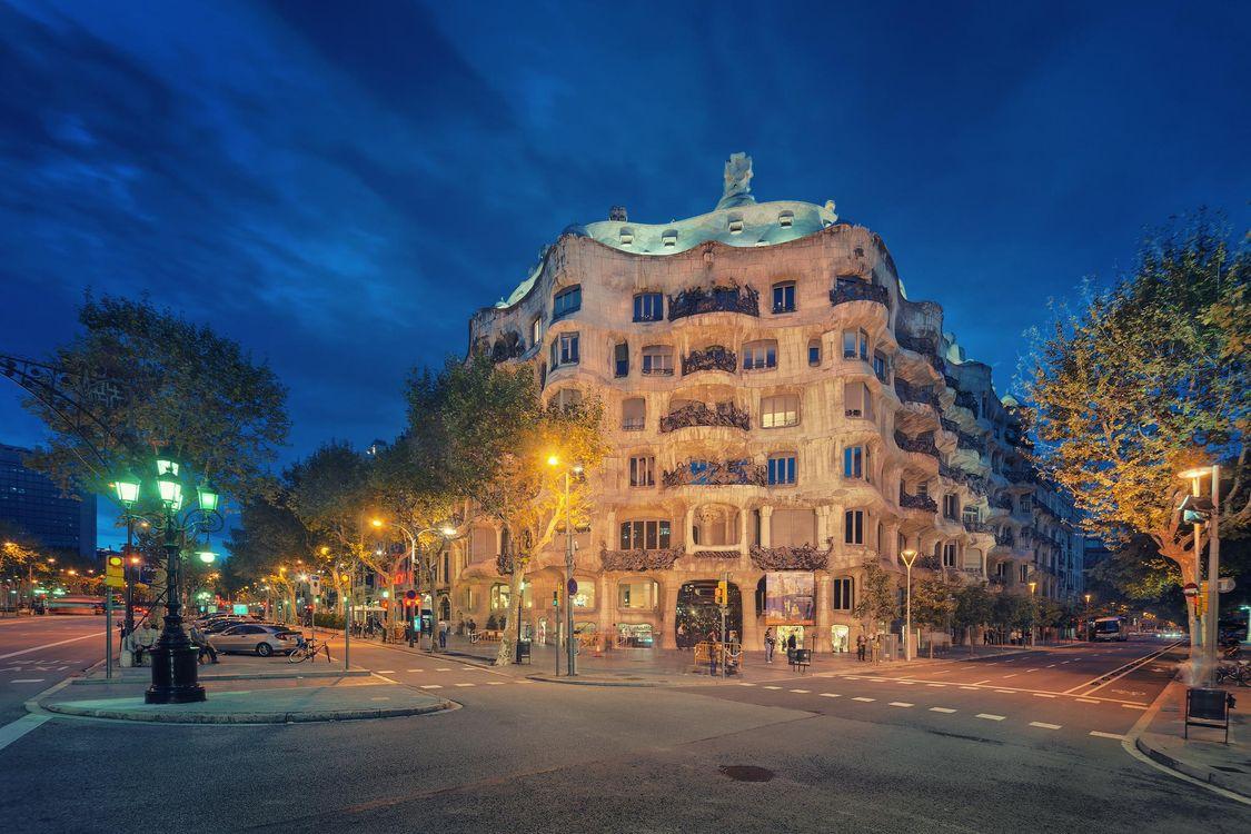 Фото бесплатно Барселона, Испания, город - на рабочий стол