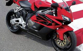 Photo free Honda, sportbike, red