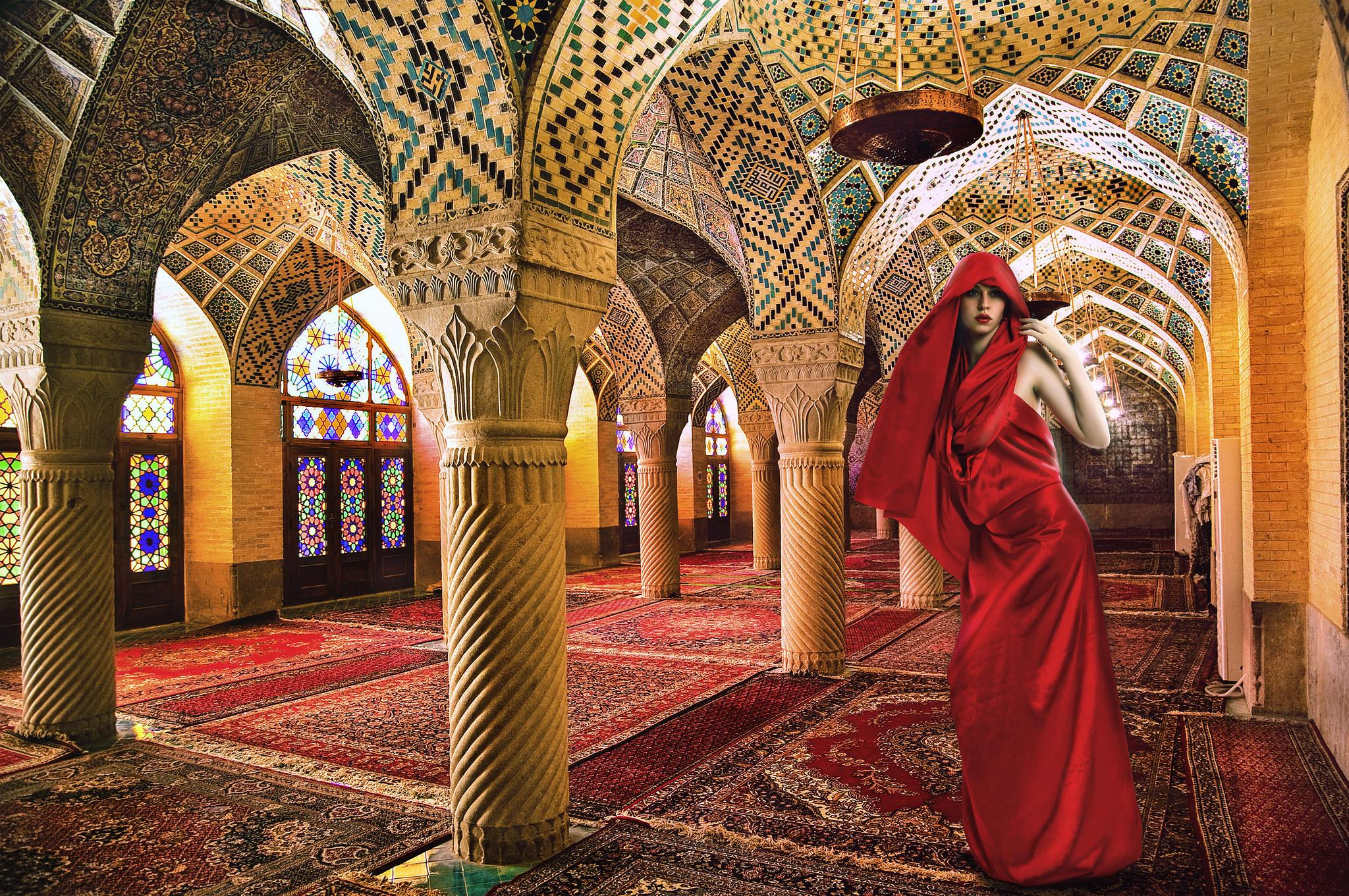 Обои Мескита, римско-католический собор, Кордовская мечеть, помещение