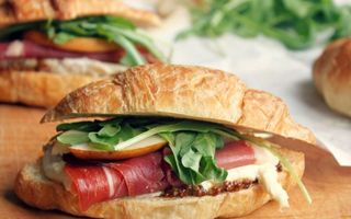 Photo free sandwiches, meat, smoked products