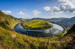 Фото бесплатно Германия, подкова, река
