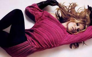 Фото бесплатно фотомодель, шатенка, длинные волосы