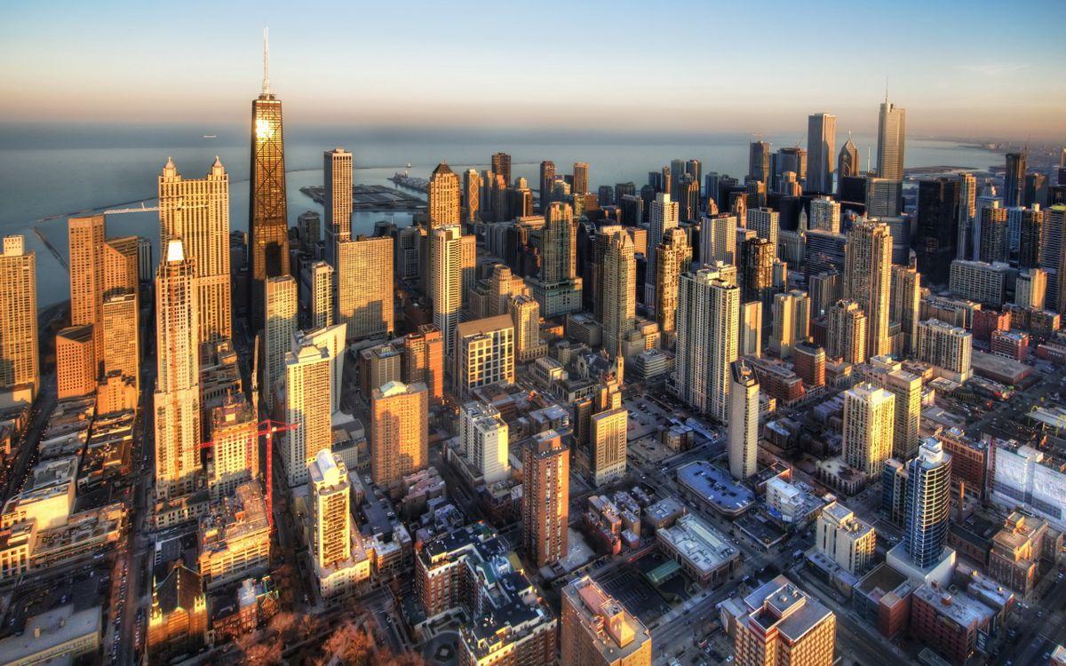 Фото бесплатно город, здания, движение - на рабочий стол
