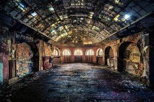 Бесплатные фото интерьер,комната,зал,руины