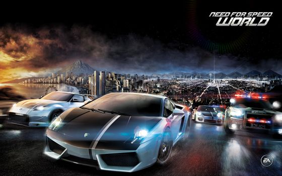 Photo free need for speed, city, night