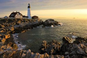 Photo free coast, Maine, Maine Bay