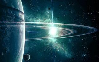Заставки планеты, пояс, звезды