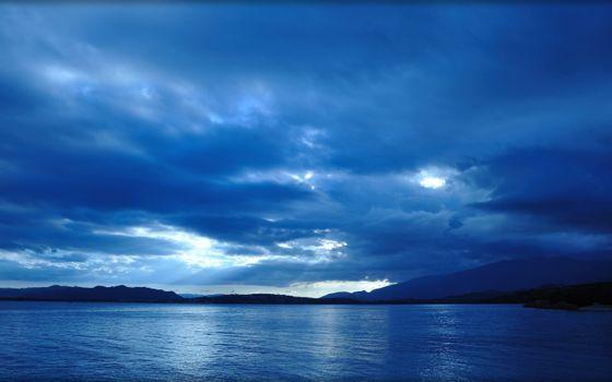 Фото бесплатно Синий, море, небо