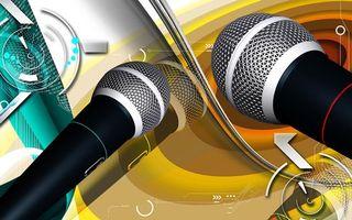 Караоке микрофон фото