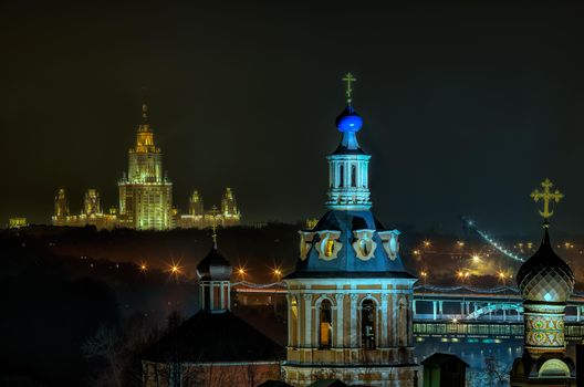 Заставки Москва, Россия, ночь