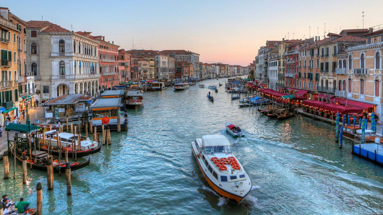 Free photo Venice, Grand Canal, Italia - to desktop