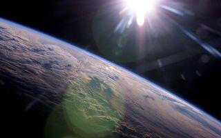 Фото бесплатно солнце, невесомость, земля