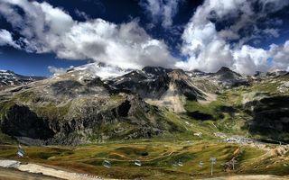 Бесплатные фото горы,скалы,растительность,дороги,курорт,дома,здания