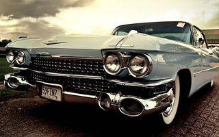 Фото бесплатно автомобиль, классика, фары