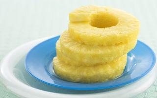 Фото бесплатно дольки, консервированный ананас