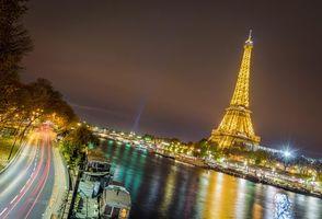 Фото бесплатно Эйфелева башня, Франция, Париж
