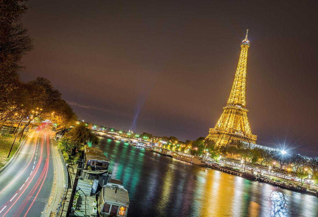 Фото бесплатно Эйфелева башня, Франция, Париж, город - скачать на рабочий стол