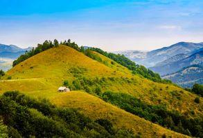 Фото бесплатно пейзаж, домики, Румыния