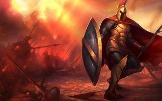 Фото бесплатно бой, воин, рыцарь