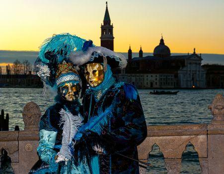 Фото бесплатно италия, венецианский костюм, карнавал