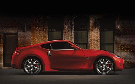 Заставки Nissan Z, красный, фонари