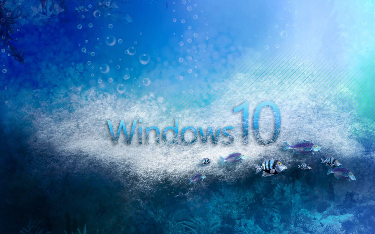 Windows 10 заставка · бесплатное фото