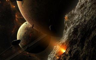 Фото бесплатно планеты, космос, вселенная