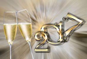 Фото бесплатно Happy New Year, новогодние обои, 2017