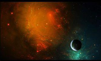Заставки космос,вселенная,планеты,звёзды,созвездия,свечение,невесомость