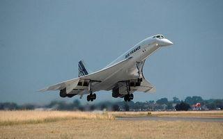 Фото бесплатно самолет сверхзвуковой, пассажирский, Конкорд