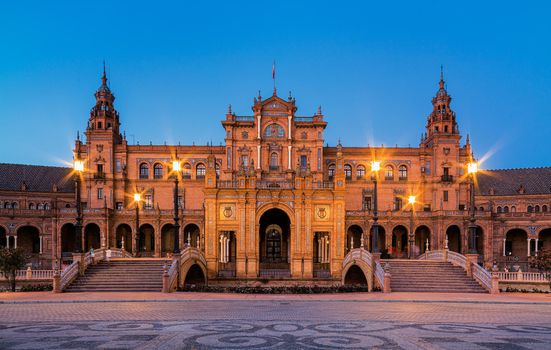 Photo free Plaza de espa a is a square located in Maria Luisa Park in Seville, Spain, city