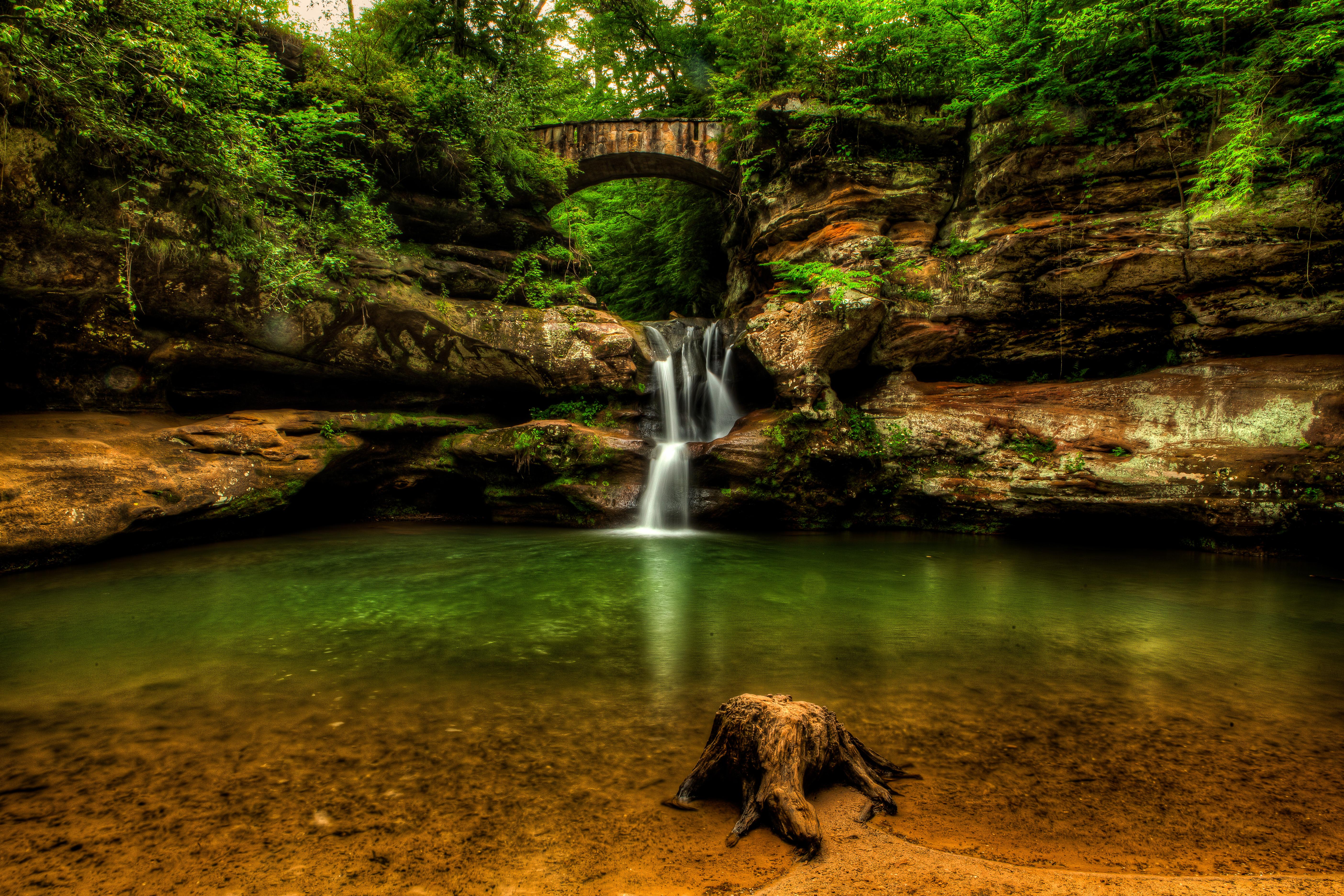 Upper Falls, Old Mans Cave, Hocking Hills State Park